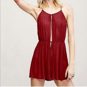 Free People Liaisons Romper Size L NWOT